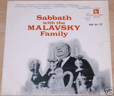 Sabbath with the Malavsky Family - LP