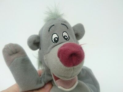 Disney The Jungle Book Baloo The Bear Plush Soft Toy Hand Puppet Animal Figure