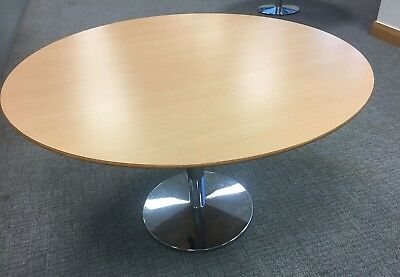 Banqueting Meeting  Party Office Table With Strong Metal Base  7 Tables Cheap!