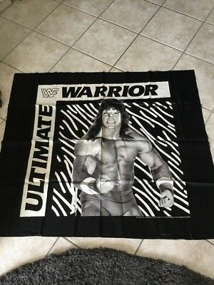 WWF/WWE Vintage Fahne The Ultimate Warrior