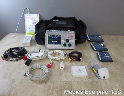 ZOLL E Series 12 Lead ECG 20-Pin SpO2 SpCO NIBP etCO2 Pacing Analyze lifepak