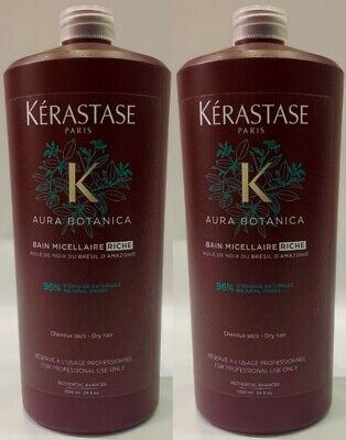 2 X Bain Micellaire Riche 1000ML Kerastase + Free Pump