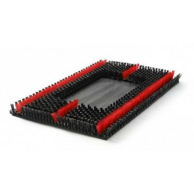 "Malish Sonic Brush 14"" x 20"" (Fits Square Scrub, Clarke, etc.)"