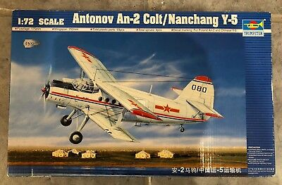 Trumpeter, Antonia An-2 Colt/Nanchang Y-5, Model Kit Nr. 01602 & Detail Kit