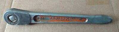 Vintage JH Williams and Co 1/2 Inch Drive Ratchet S-50