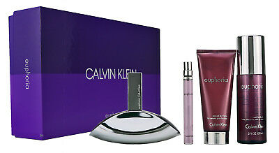 Calvin Klein Euphoria Women 100ml EDP &10ml  EDP &BL 100ml & 150ml Body Mist