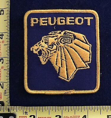 Vintage Peugeot auto car service Uniform Patch