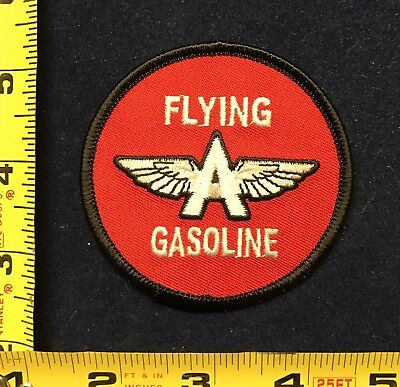 """Veedol Flying """"A"""" Gas Oil Service Station collectible Patch"""