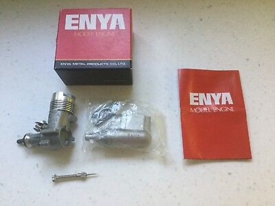 Enya 19-VI model engine in box with instructions
