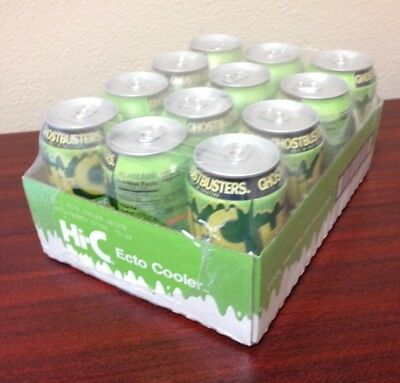 Hi-C Ecto Cooler 12 pack Limited Edition Color Changing Cans Ghostbusters