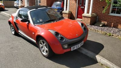 Red Smart Roadster 2005 - For repairs
