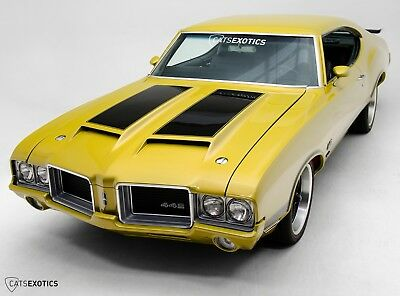 1971 Oldsmobile 442 W-30 Clone Restoration Completed 100 Miles Ago - Matching Numbers 445 V8 - Air Conditioning