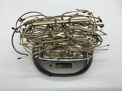 ~ 1/10 12K Gold Filled Eye Glasses ~ 128.6 Grams ~  For Gold Scrap Recovery ~