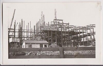 Lot of 2 Orig Vintage Photos McClintic-Marshall Structural Steel Pittsburgh 1930