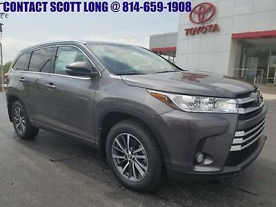 2018 Toyota Highlander Highlander XLE AWD Navigation Heated Leather New 2018 Highlander XLE AWD Navigation Heated Leather Sunroof Rear Backup Camera