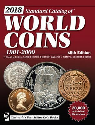 2018 !!! Standard Catalog of World Coins 1901-2000 - 45th edition PDF file