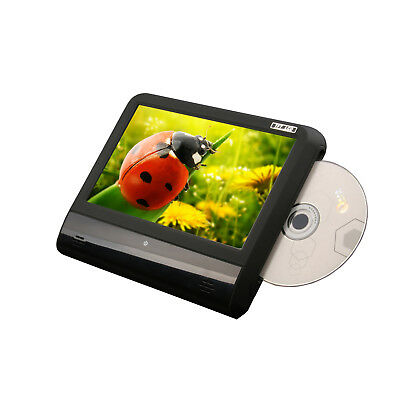 """Portable Black 9"""" LCD Car Headrest Monitor w/DVD Player Touch Screen 32Bits Game"""
