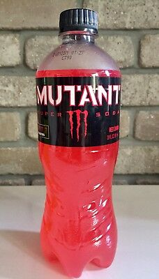 Monster Energy Mutant Super Soda Red Dawn Deadpool 2 Limited Addition.(New)