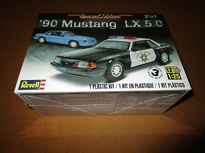 Revell Model Kit 90 Mustang LX 5.0 1/25 Complete & Unbuilt Sealed