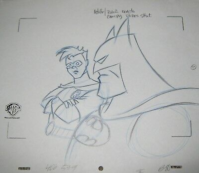 Original production drawing - Batman: The Animated Series