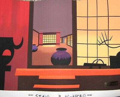 Original production pan background - Samurai Jack