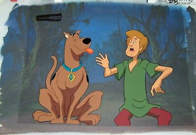 Original production cel  - Scooby Doo on Zombie Island (Cartoon Net)