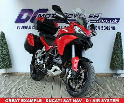 2015 15 Ducati Multistrada 1200 S Tourin D/air