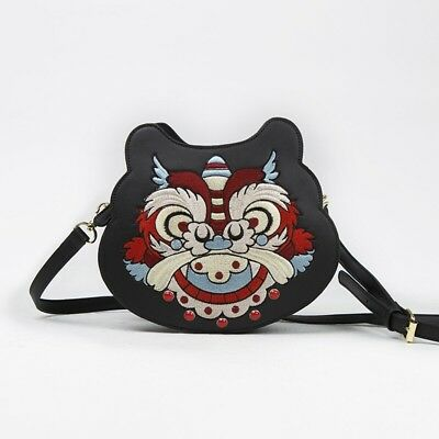 Chinese style shoulder bag crossbody bag hanfu han dynasty cute tiger homemade