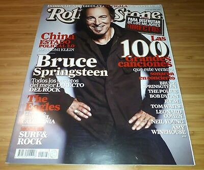 Rolling Stones Spain Magazine 2008 - Bruce Springsteen The Eagles Rock Revista
