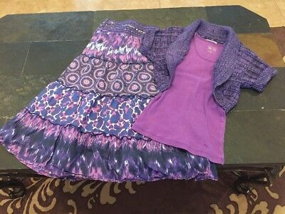 Justice 3 Piece Outfit Size 8/10
