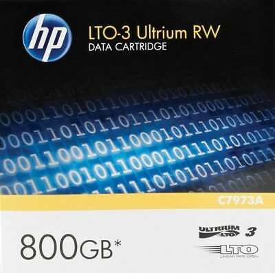 5 x HP LTO-3 Ultrium Tapes - New, Sealed C7973A