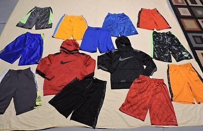 Boys Size 8/10/ 10/12 Athletic Spring/Summer 8~Shorts 5~Shirts  Clothing 15 Pcs
