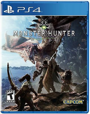 Sony PlayStation 4 (PS4) Game - Monster Hunter World
