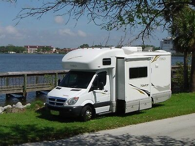 08 Garaged Shorty Navion 59k 240 hours perfect slide diesel view ITASKA WINEBAGO