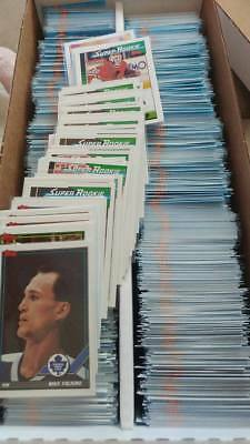 1991-92 Topps Hockey 401-528 & Team Scoring Leaders You Pick UPick From List Lot
