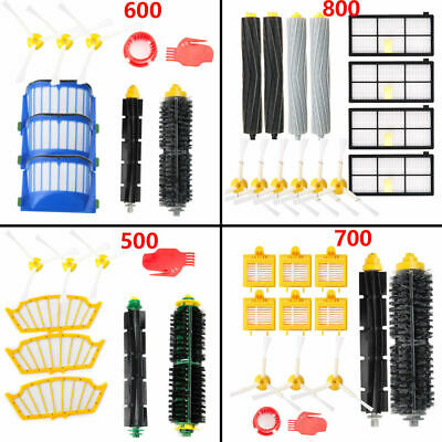 Side Brush Filter Brush Kit Remote Control Clean for iRobot Roomba Series600 700