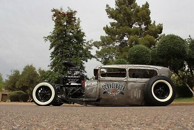 1929 Ford Model A  1929 HOT STREET RAT ROD All Steel Super Charged Show Winner One of a Kind Ford