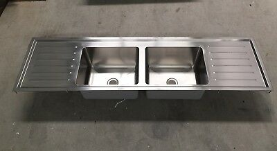 Commercial Laboratory Britex Stainless Steel Laboratory Sink Grade 316 SS