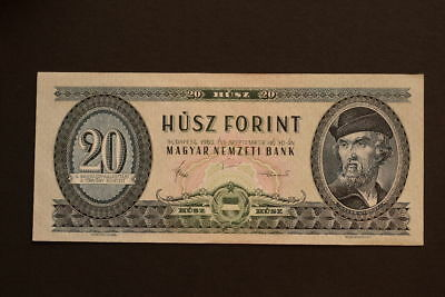 Hungary 20 Forint Banknote 1980 UNC