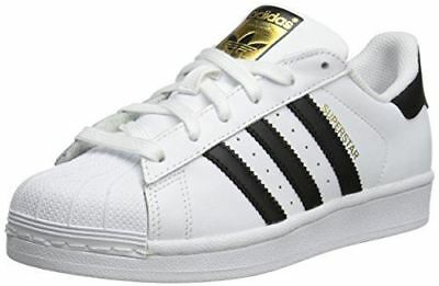 adidas Originals Superstar J Casual Low-Cut Basketball Sneaker (Big Kid),White/B