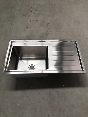 New Commercial Britex Stainless Steel Laboratory Sink Grade 316 SS