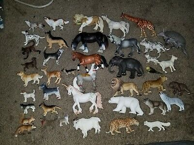 schleich germany Wild Animal lot of 41