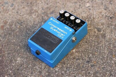 1987 Boss CS-3 Compression Sustainer MIJ Japan Vintage Effects Pedal