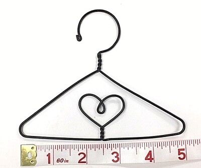 "6X  Small Wire Quilt Hangers  5""  (Heart in Centre)"