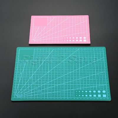 A4 A5 PVC Self Healing Cutting Mat Pad Craft Quilting Grid Lines Printed Board