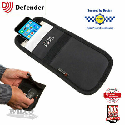 Faraday Defender Signal Blocker Mobile Phone Car key fob Signal Jamming pouch