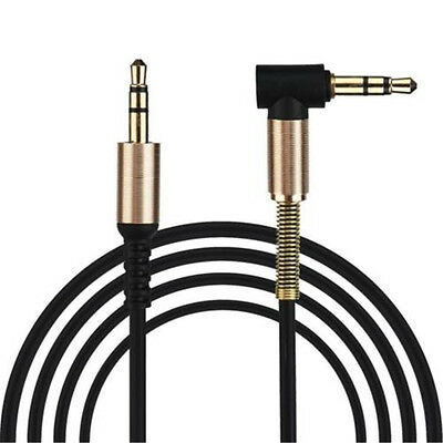 3.5mm Jack Cord Stereo Audio Cable Male To Male 90Degree Right Angle Aux Cable T