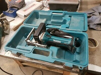 Makita DPJ180 Biscuit Jointer 18v LXT Cordless Used