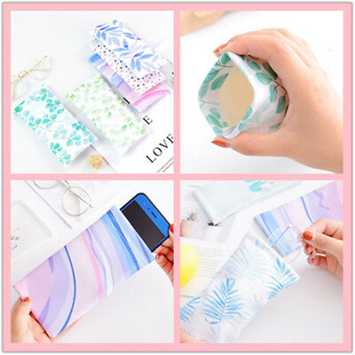 Scratch-proof Pouch Bag Soft Cleaning Case Sunglasses Eyeglasses High Quality