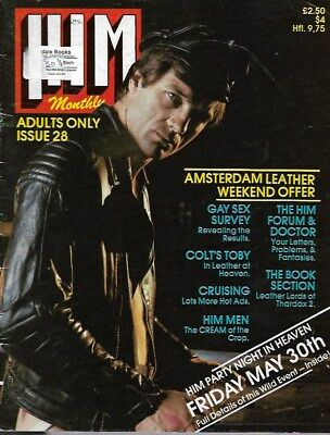 Vintage Gay Magazine - Him Magazine No 28
